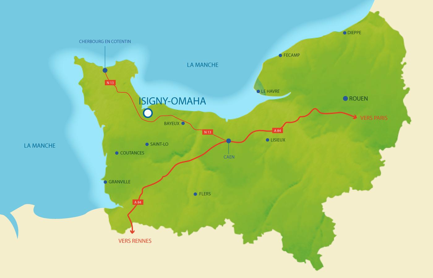 Isigny Omaha en Normandie