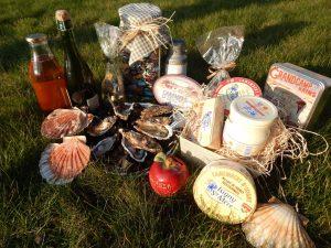 Office-tourisme-isigny-omaha-Produits-du-terroir-cidre-fromage-huitres