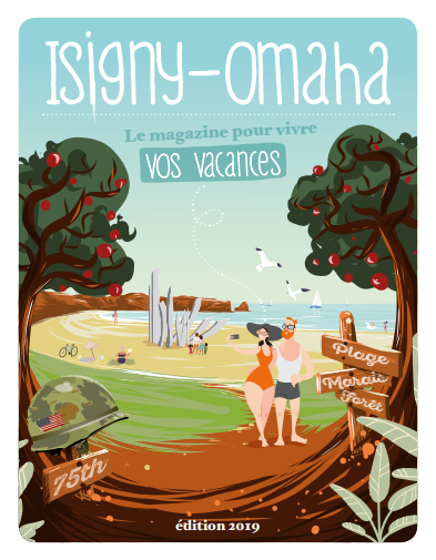Couverture guide Touristique Isigny Omaha 2019