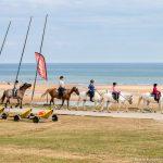 Balade à cheval sur Isigny-Omaha Colleville-sur-Mer