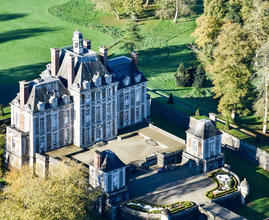 Chateau de Balleroy Isigny Omaha Tourisme