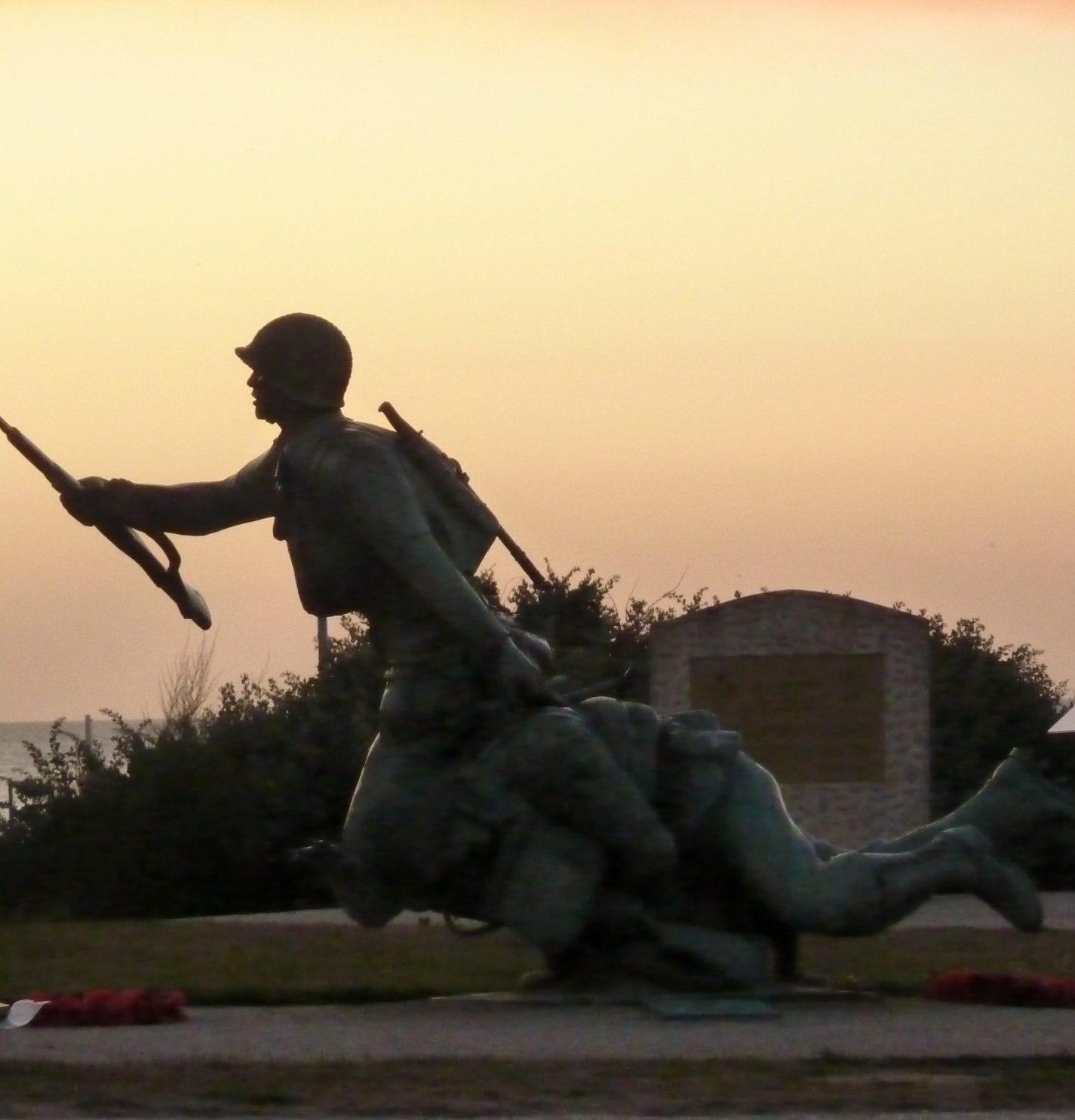 Monument de Vierville sur Mer Omaha Beach Débarquement