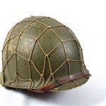 Omaha Beach casque militaire américain