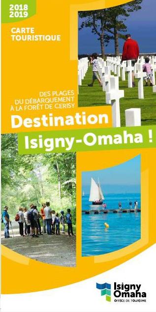 carte touristique d'Isigny-Omaha
