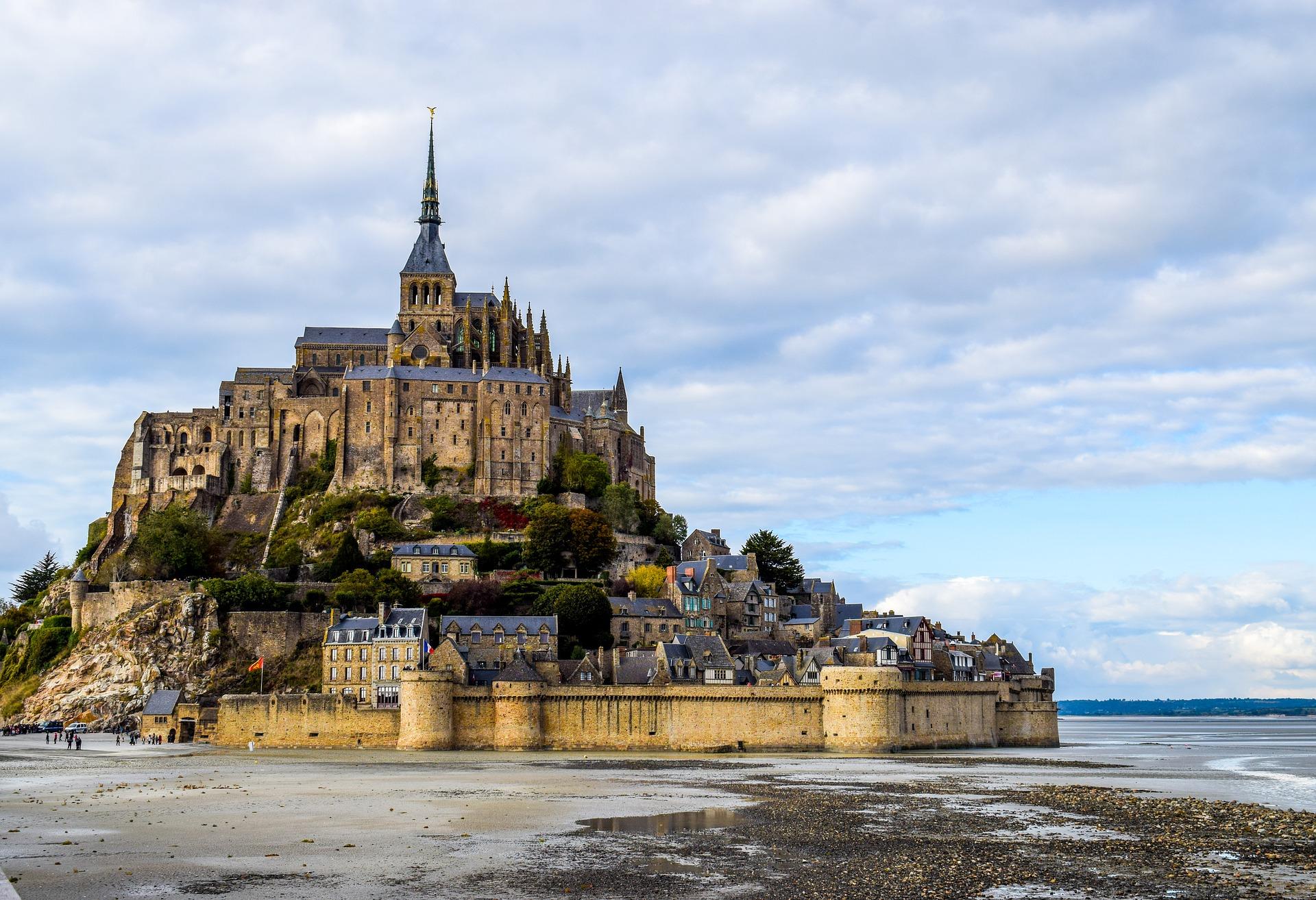 Mont Saint Michel Image par2990108 de Pixabay