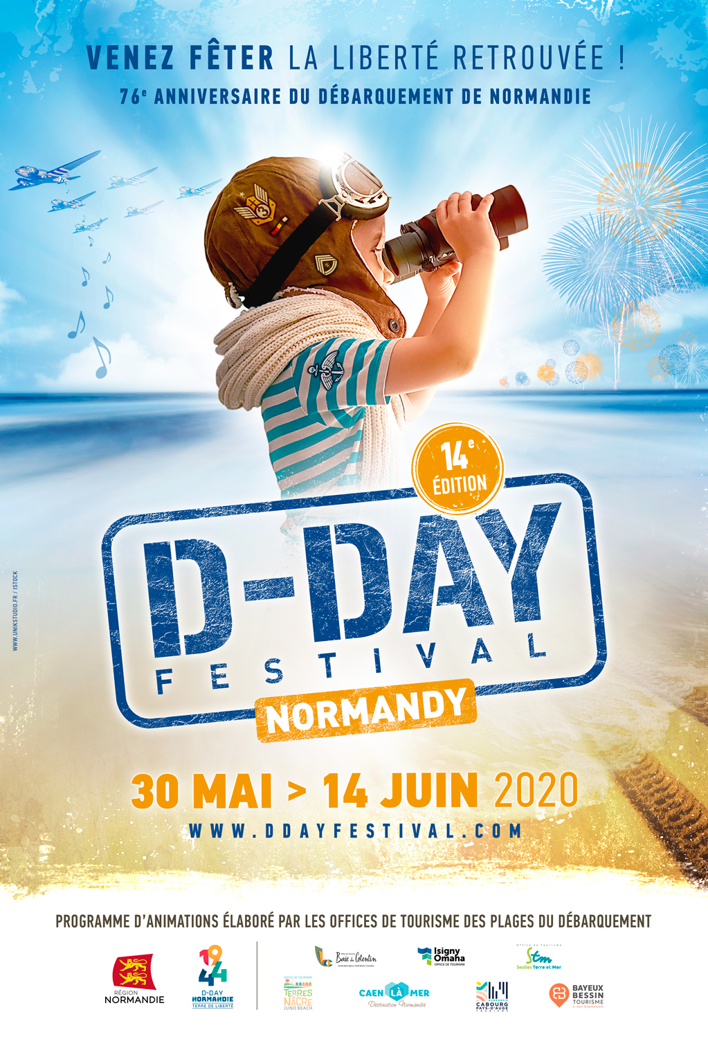 D-Day Festival Normandie Isigny Omaha