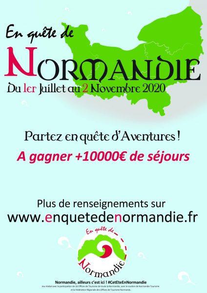 Voir la suite du zoom sur En quête de Normandie, jeu d'énigmes !