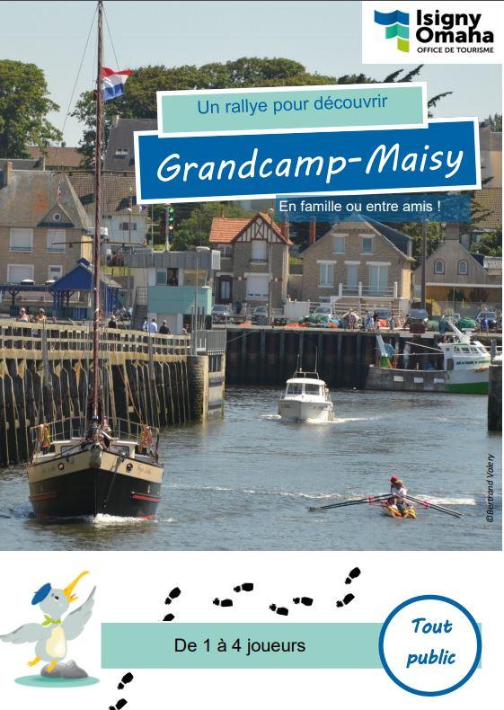 rallye-jeu de Grandcamp Maisy