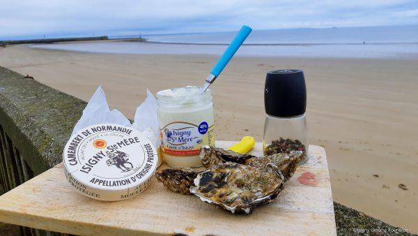 Voir la suite sur Huîtres chaudes d'Isigny au camembert, un goût de Normandie !