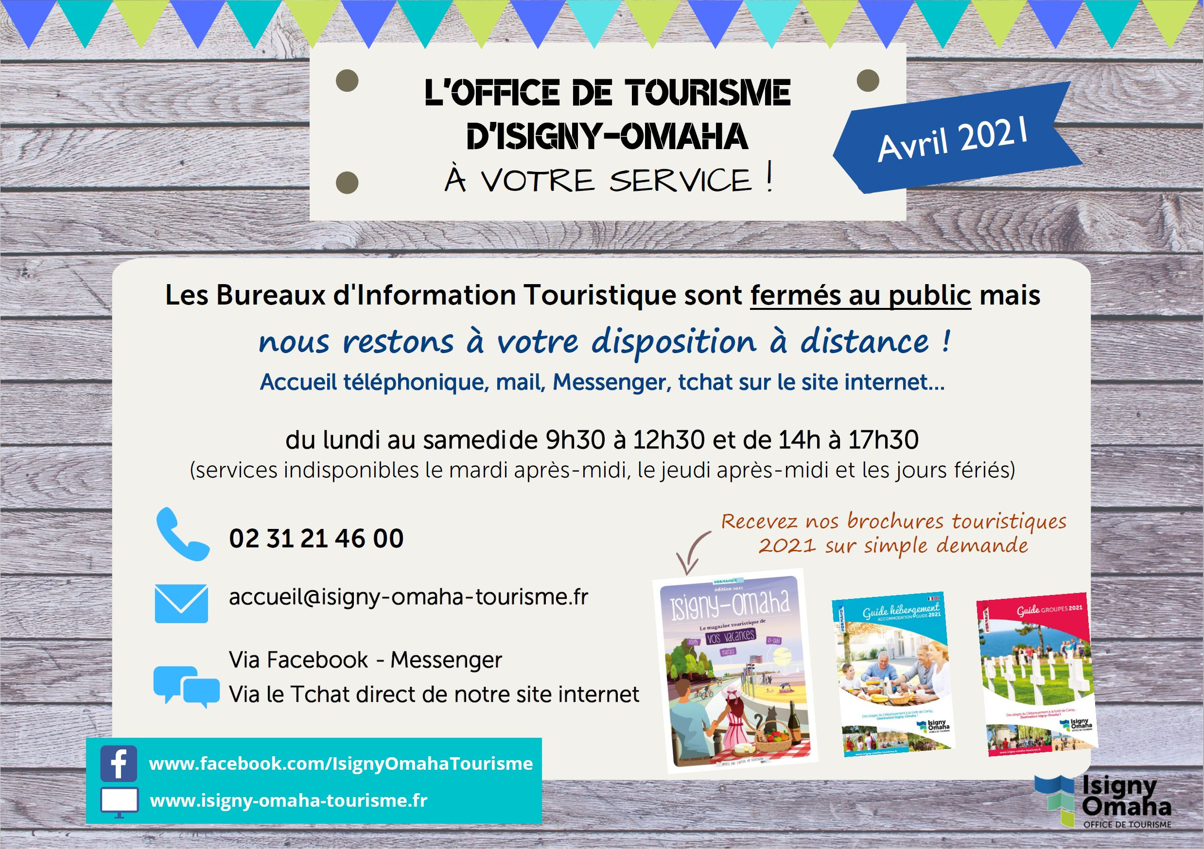 Ouverture tourisme avril 2021