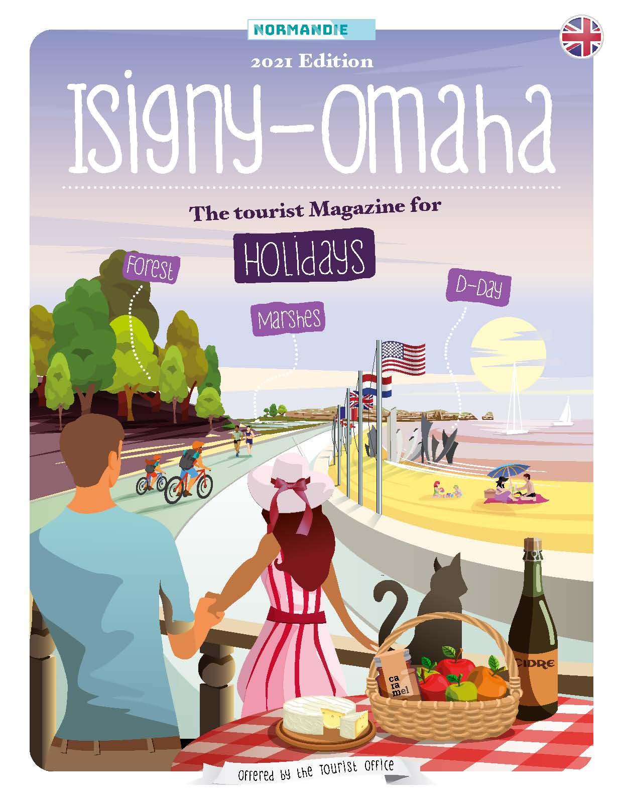 Tourist magazine Isigny Omaha 2021 (english)
