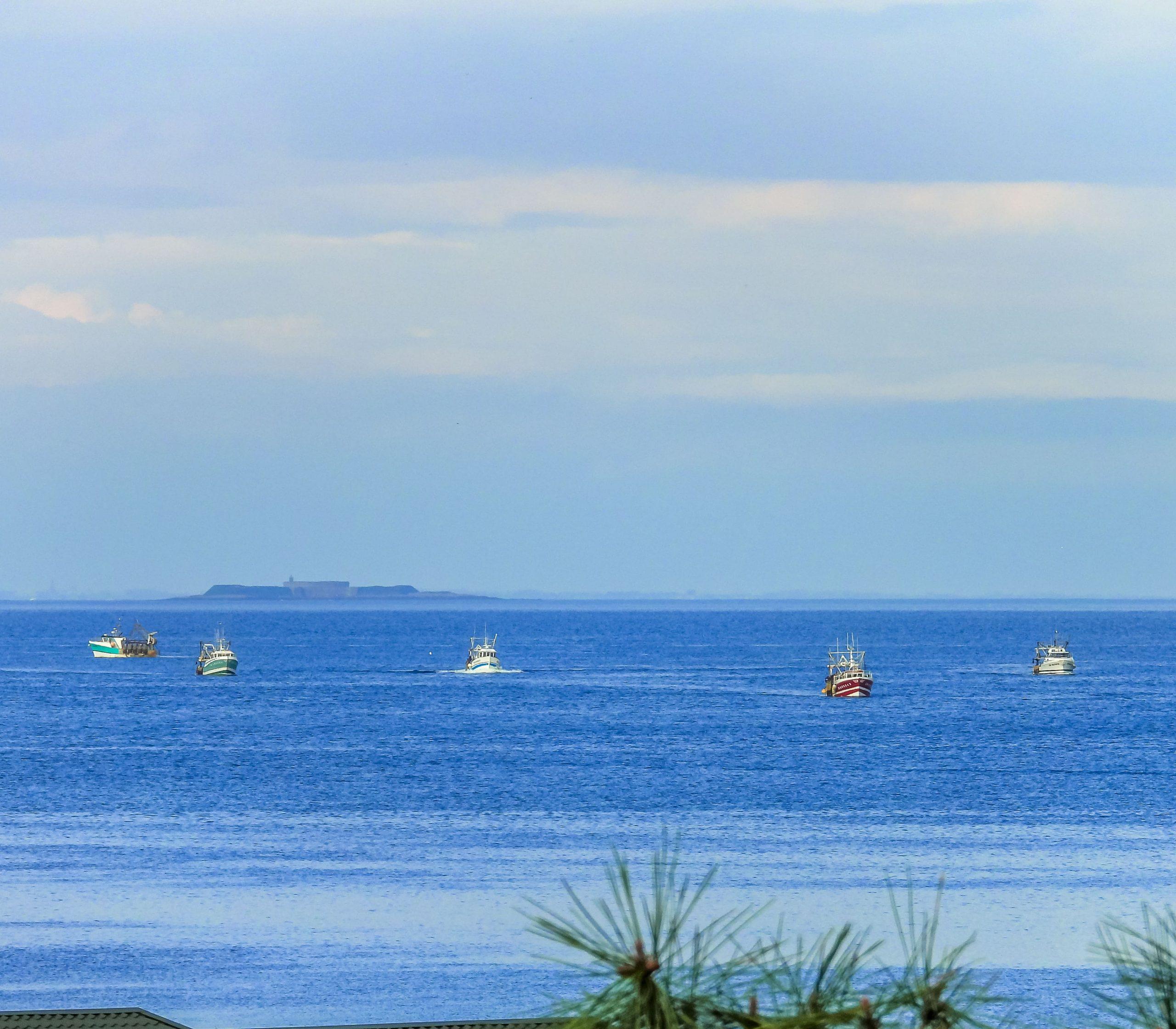 La mer vue de Grandcamp Maisy