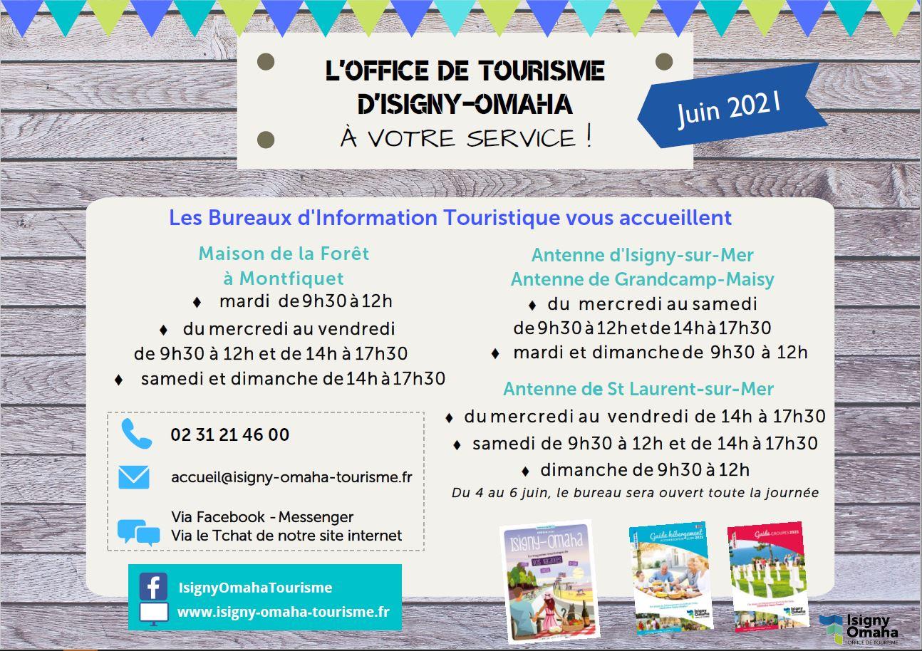 Ouverture tourisme juin 2021