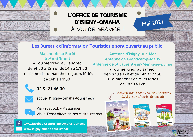 Ouverture tourisme mai 2021