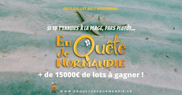 Voir la suite de l'actualité En quête de Normandie 2021, jeu d'énigmes !